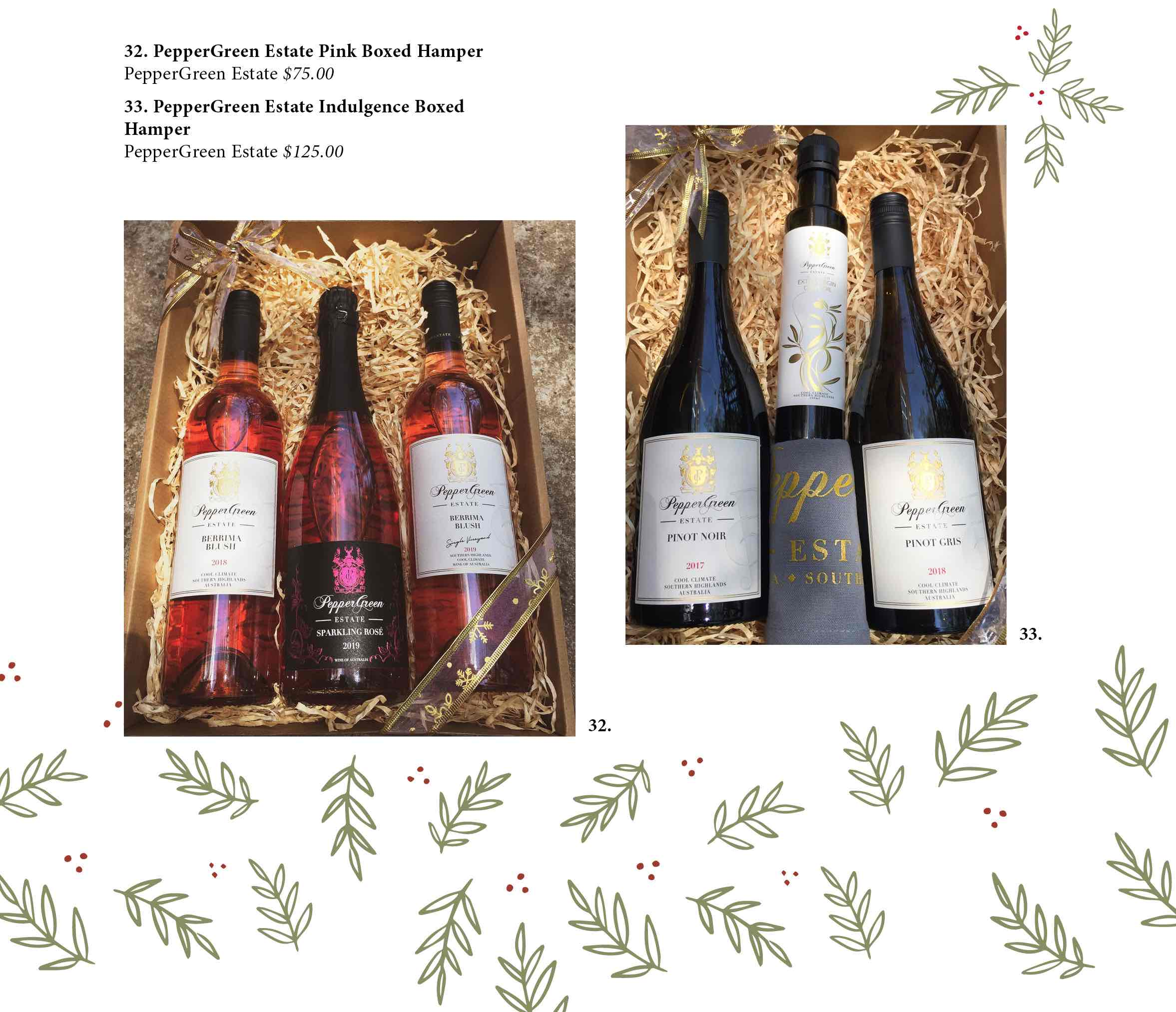 Festive wine gifts Southern Highlands