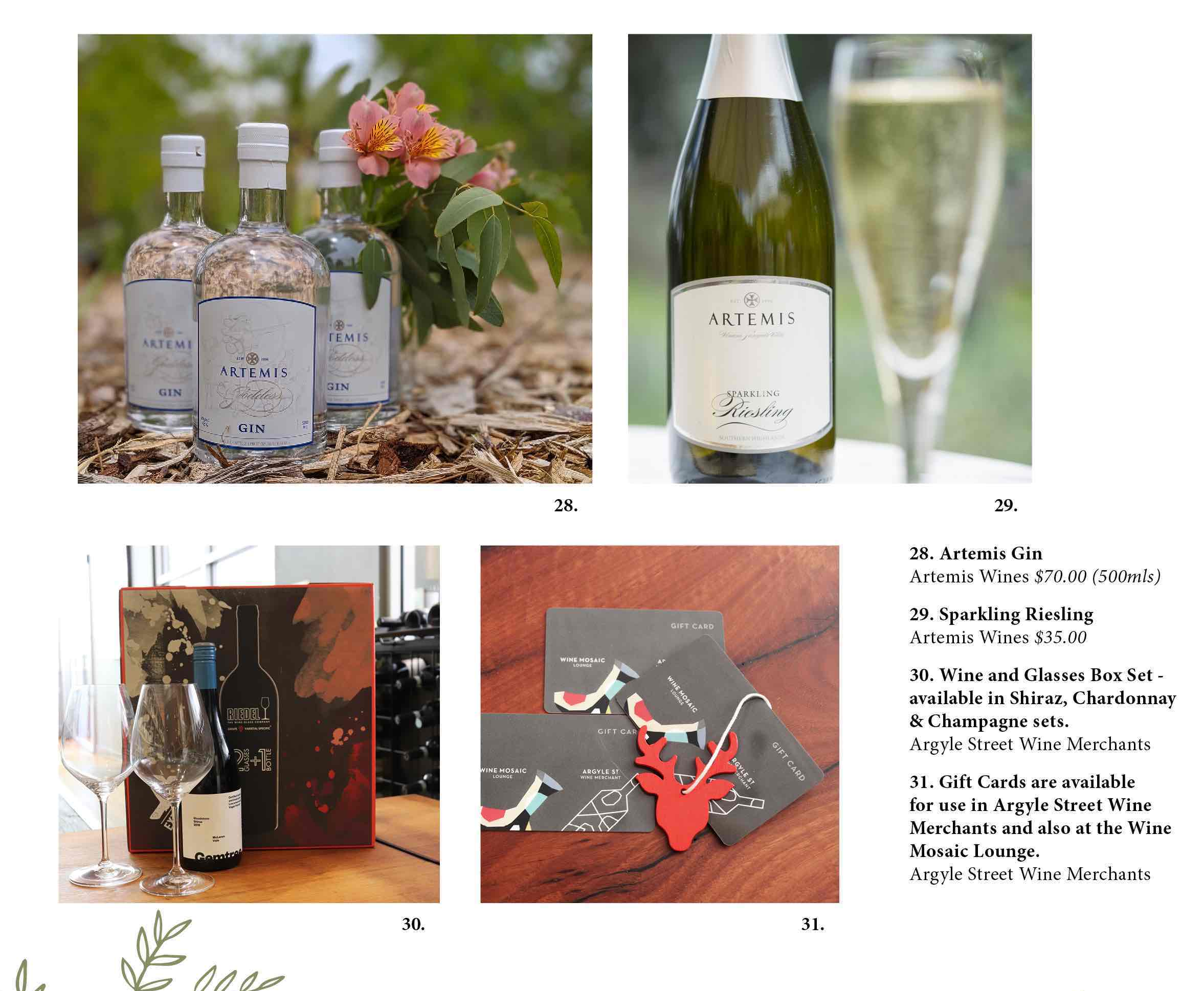 Southern Highlands wine gifts Christmas
