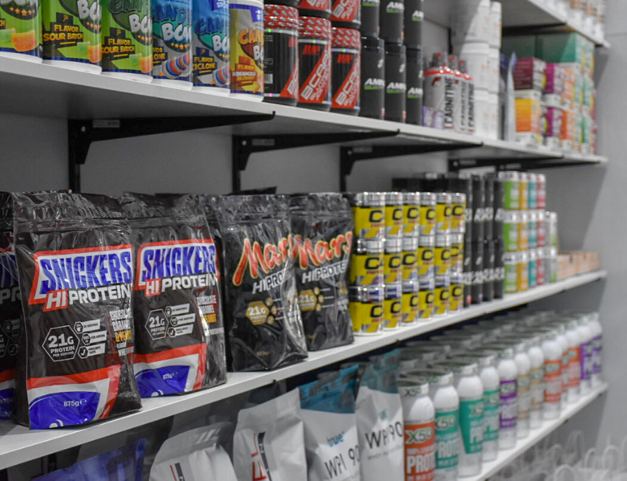 Nutritional supplements available at F45 Bowral