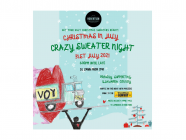 [CANCELLED] Christmas in July - Crazy Sweater Night