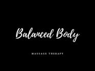 Balanced Body Massage Therapy