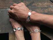 Hammered Chain Bracelet Workshop
