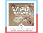 Paddock. Palette. Palate.