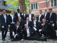 The Whiffenpoofs A Cappella Group Performs Live at Wombat Hollow