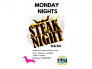 Monday Steak Night at Robertson Bowling Club
