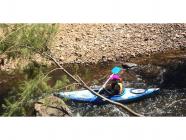 Women's Easy Rapids Kayaking