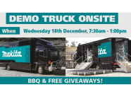 Makita Demo Truck | GPG Mitre 10 Moss Vale
