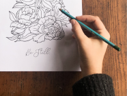 ARTIST SERIES // Adult Colouring Printable Illustrations