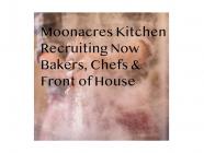 Job Vacancies at Moonacres Kitchen