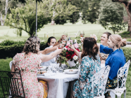 WEDDINGS // How To Create A Perfectly Stylish, Highlands Bridal Shower