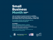 Small Business Month Launch: Keynote Speaker & Networking
