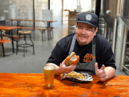 In The Kitchen With Nathan West// BOOZY BURGERS AT EDEN BREWERY
