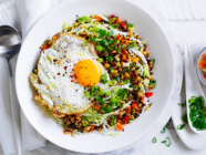 RECIPE :: Nasi Goreng With Fresh Pickles And Egg