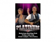 The Platinum Duo at The Robertson Bowling Club