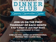 Thursday Night Dinner Club at Bowral Bowling Club